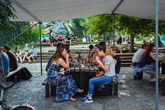 Šalátová Vegánska nedeľa (Stanica Žilina-Záriečie) Tags: veganskanedela garden terasa stanica zilina zariecie food veganfoodshare potluck