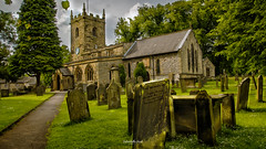St Lawrence (Mark Palombella Hart) Tags: church graves summer june trees grave