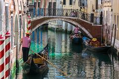 Venice...006 (Gorky1985) Tags: venice venedig italien italy goran cosic gondel gondola water wasser channel boat colors farbe nikon nikkor d5300 18105