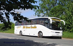 Phil Haines Coaches - Lincolnshire (Hesterjenna Photography) Tags: w77web dennis javelin bus coach psv travel lincolnshire lincs philhaines boston transport schoolbus scholar