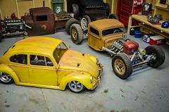 Tamiya M06 Volkswagen Beetle Patina (Strangely Different) Tags: rceveryday rcengineering scaler scalerc hobby tinytrucks tamiya rc4wd axial m06 mini vw volksrod volkswagenbeetle patina lexan