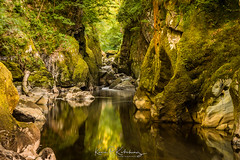 Fairy Glen 1 (Bogtramp) Tags: sun summer snowdonia landscape kitching north gorge colourful nikon kpkphotography wales uk sea