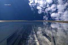 Point me at the sky... (stefano.chiarato) Tags: pointmeatthesky pinkfloyd grattacieli vetri nuvole clouds cielo sky milano citylife lombardia italy pattern urban pentax pentaxlife pentaxk70 pentaxart