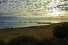 Nobody at the beach (Kat-i) Tags: australien monkeymia australia strand beach wolken clouds sky himmel meer sea boote boats sonnenstrahlen sunrays nikon1v1 kati katharina