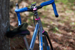 Moots Top Tube Anodization