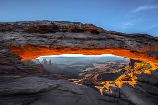 Mesa Arch sunrise, Moab UTAH