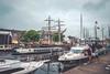 Emdener Stadthafen (Diggoar) Tags: emden hafen harbour boats ships city cityscape water 21mm fujifilm xpro2 xf14mmf28