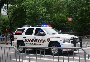 Essex County New Jersey Sheriff's Department Chevy Tahoe