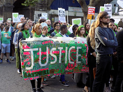 Grenfell Anniversary Silent Walk (95)r (Funny Cyclist) Tags: grenfell anniversary 2018 fire tower blaze 71 deaths london kensington north nottinghill commeration people street green road photos justice for 2017 14 june