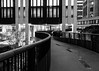 99/365 - Snake (Spannarama) Tags: 365 april blackandwhite pedway highwalk curved snaking building architecture londonwallplace london uk