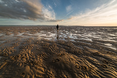 Post Hector (Rob Pitt) Tags: west kirby beach post storm hector hilbre island sand patterns wirral sony a7rii samyang 14mm sunset