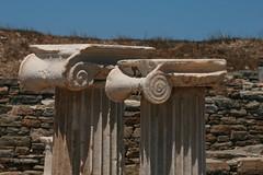 Ionic capitals (SergioBarbieri) Tags: archeologia delos isolecicladi greekislands colonne capitelli ionici