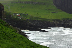 View of Mykines from Mykineshólmur islet (Gregor  Samsa) Tags: north deepnorth faroe faroes faroeislands atlantic island islands archipelago hike hiking walk walking gree greenery vista viewpoint