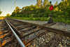 Points (Kevin Tataryn) Tags: switch stand ties points frog rails tracks wide angle tokina 1116 nikon d500 hdr aurora 2018 canada cnr cn