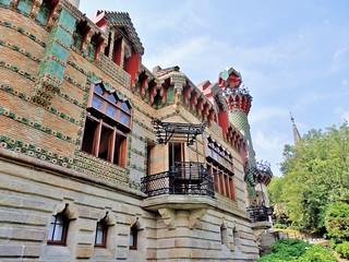 El Capricho de Gaudí en Comillas- Cantabria.