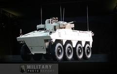 VBCI avec tourelle T40 en démo 3D (Model-Miniature / Military-Photo-Report) Tags: eurosatory 2018 paris parc expositions villepinte militaryphotoreport sofram nexter knds caesar char leclerc cmi defense jaguar