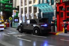 2017 Ford Explorer Police Utility (sponki25) Tags: nypd police ford explorer utility suv legonyc new york city lights car lifelites moc lego