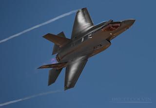 F-35A Making Clouds
