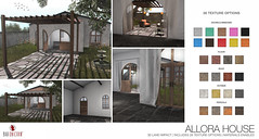 NEW! Allora House @ Uber (Bhad Craven 'Bad Unicorn') Tags: • bhad craven second 2l life lindens profile picture photography bad unicorn badunicorn clothing buc bu secondlife graphics gfx graphic design photos pics photo sl urban mesh exclusive store blog shadows high quality decor production portrait image hd definition original meshes meshed 3d game characters art gaming concept concepts new top work progress wip tuscany multi colours colors pergola home italian villa