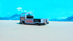 Hot Wheels HW HOT TRUCKS Volkswagen T2 Pick Up 2017 : Bonneville Salt Flats - 14 Of 18 (Kelvin64) Tags: hot wheels hw trucks volkswagen t2 pick up 2017 bonneville salt flats