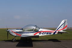 G-CFNW Eurostar, Scone (wwshack) Tags: egpt eurostar evector psl perth perthairport perthshire scone sconeairport scotland scottishaeroclub gcfnw