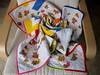 BABY QUILTS (Patchwork Daily Desire) Tags: patchworkdailydesire patchwork scraps piecing spring summer sky babyquilt quilting cozy binding stars sun crafts eggs box giftideas garden quilts red green handmade hobby batting quilt blocks