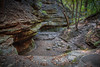 Matthiessen State Park (Fret Spider) Tags: matthiessenstatepark waterfall forest park riverbed moisture nature outdoors trees green sediment layer stratification canon5dmarkiii canonef24mmf14liiusm illinois landscape wideangle ultrawideangle longexposure ef eos dslr circularpolarizer soggy hike climb