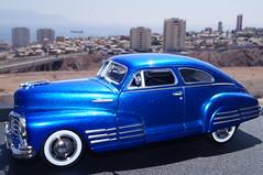1948 Chevy Aerosedan Fleetline diecast 1:24 made by Motormax (rigavimon) Tags: diecast miniaturas 124 1948 chevrolet aerosedan miniature motormax