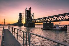 Lillobrug,Port of Antwerp (aantwaarpe) Tags: lillobrug antwerp portofantwerp harbour harbor docks haven