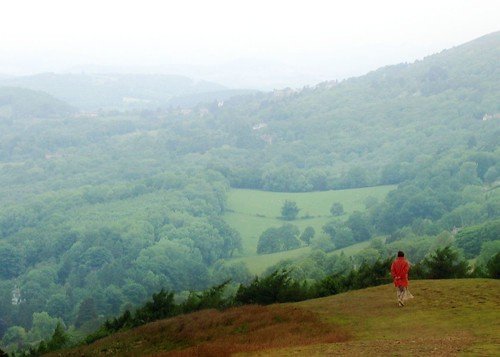 Walking on the Malvern Hills