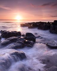 In the Beginning (johnkaysleftleg) Tags: highnewton snookpoint highnewtonbythesea northumberland northumbria northumberlandcoast aonb sunrise morning tide flow rocks drama canon760d sigma1020mmf456exdchsm ndhardgrad12 5stopfilter nd15