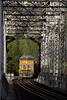 Across the Feather at Tobin (Patrick Dirden) Tags: up2594 et44ah gevo ge generalelectric diesel locomotive engine rail railroad train freighttrain graintrain up unionpacific unionpacificrailroad upcanyonsubdivision trestle bridge featherriver featherrivercanyon tobinca plumascounty sierranevada northerncalifornia california