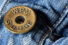Jeans (Fabio Polimadei) Tags: circles button jeans macro macromondays