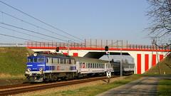 EP07-1017, Strzelce Opolskie, 09.04.2018 (Marcin Kapica ...) Tags: lokomotive locomotive kolej pkp ic ep07 railway train bahn