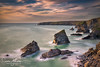 """ The Steps Of Bedruthan"" (simonjohnsonphotography.uk) Tags: seascapephotography d850 landscape nationaltrust landscapephotography atlantic tide northcornwall bedruthansteps longexposure sea photography ocean simonjohnsonphotography seascape nikon cornwall nikonuk leefilters"