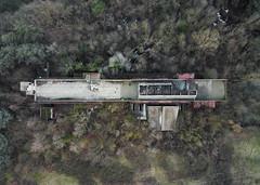 DJI_0054 (trevor.patt) Tags: gresleri pareggiani daini modernist brutalist architecture religious ruin casalecchio bologna it nadir aerial drone dji mavic
