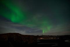 Kirkjufjara_aurora_L1090522 (nocklebeast) Tags: auroraborealis iceland kirkjufjarabeach nrd aurora stars ocean beach vik southcoast