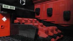 Cinema screen (rh1985moc) Tags: cinema multiplex lego jaws screen films movie projector poster