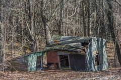Weekend Getaway? (Bud in Wells, Maine) Tags: buildings dilapidated decay woods decrepit ruins hss