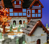 Heroica Snowed Inn 03 (cjedwards47) Tags: lego moc heroica game advancedheroica castle inn zombie zombies snow winter microscale