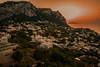 Island sunset...... (Dafydd Penguin) Tags: sun sunset set island view mountain water sea orange mediterranean bay naples napoli capri isola town leica m10 elmarit 21mm f28