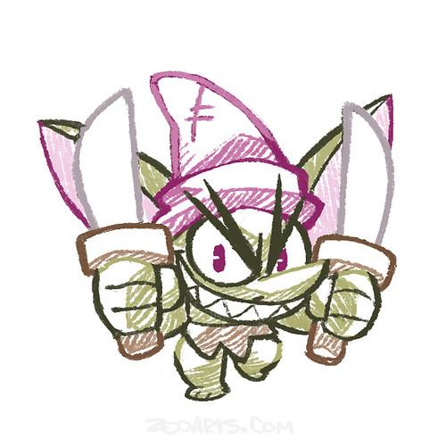 Character Design - illustration - Crayon_RPG_3