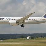 United Airlines Boeing 787-800 Dreamliner; N27908@ZRH;14.06.2018 thumbnail