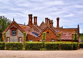 Holkham Estate Cottage Chimneys