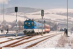 842.031-7 | Os4310 | trať 341 | Bylnice (jirka.zapalka) Tags: train trat341 rada842 os cd czechrepublic snow winter bylnice