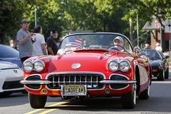 Chevrolet Corvette C1 (Jeff_B.) Tags: car cars automobile extotic exotics fast carsandcaffe croissants newjersey auto classic sportscar fathersday summit vette chevrolet gm generalmotors corvette c1