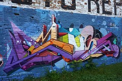 Amuse without a tree (drew*in*chicago) Tags: amuse126 chicago 2018 graffiti art artist street mural tag color