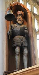 Jack O' the Clock (jpotto) Tags: uk suffolk blythburgh wood carving church statue jackotheclock