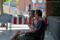 ... I scream, you scream, we all scream for ice cream ... (ChristianofDenmark) Tags: christianofdenmark copenhagen denmark summer hot heatwave icecream