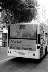 Wei Wei 83 (ZUHMHA) Tags: marseille france urbain urban line lignes courbes curve geometry géométrie monochrome lettre ngc bus car publicité letter mot word sign texte text écriture route voiture arbre panneau bâtiment